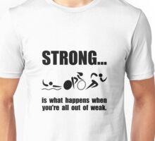 Triathlon Strong Unisex T-Shirt