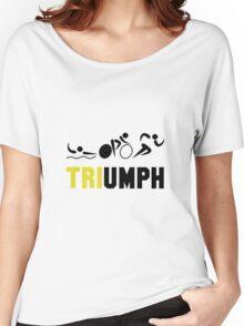Tri Triumph Women's Relaxed Fit T-Shirt