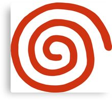 Dreamcast Logo (No Text) Canvas Print