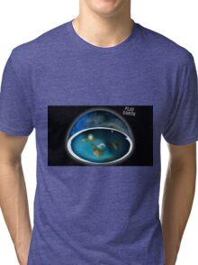 It's flat the earth,#flat earth  Tri-blend T-Shirt