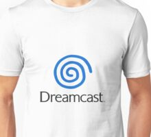 Dreamcast Logo (European; With Text) Unisex T-Shirt