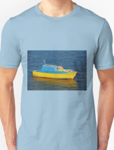 Little fishing boat, Halki Unisex T-Shirt
