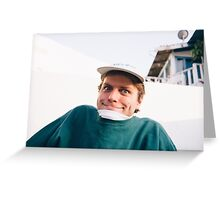 Mac Demarco Greeting Card