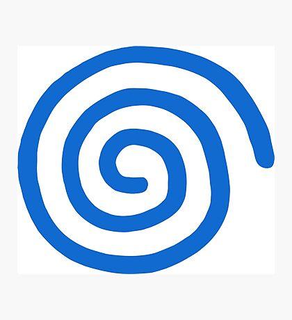 Dreamcast Logo (European; No Text) Photographic Print