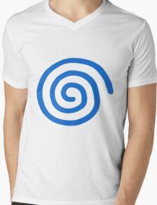 Dreamcast Logo (European; No Text) Mens V-Neck T-Shirt