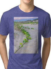 cable beach sand dunes plants  Tri-blend T-Shirt