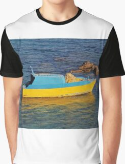 Small fishing boat, Halki Graphic T-Shirt