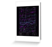 New York NY Cambria 123149 1980 25000 Inverted Greeting Card