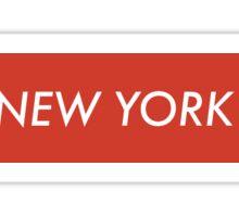SUPREME NEW YORK Sticker
