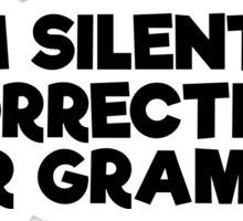 Geek Grammar School Smart Funny T-Shirts Sticker