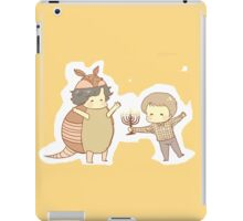Hanukkah & the Holiday Armadillo iPad Case/Skin