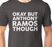 Anthony Ramos tho. (white font) Unisex T-Shirt