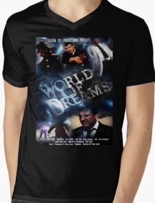 WORLD OF DREAMS OFFICIAL POSTER DESIGN SET  Mens V-Neck T-Shirt