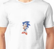 Cross Stitch Pixel Sonic The Hedgehog Unisex T-Shirt