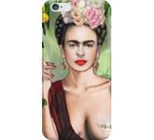 Frida con amigos iPhone Case/Skin