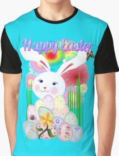 A Nice and Normal Easter Bunny Graphic T-Shirt
