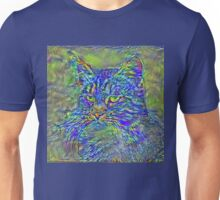 Artificial neural style Post-Impressionism cat Unisex T-Shirt
