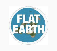 Flat earth, realise the truth Unisex T-Shirt