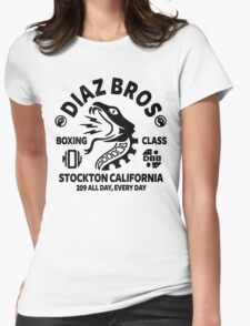 Diaz Bros Boxing Class Womens Fitted T-Shirt