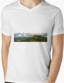 Pali Panorama Mens V-Neck T-Shirt