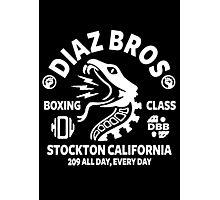 Diaz Bros Boxing Class Photographic Print