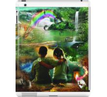 We caught fairy in jar iPad Case/Skin