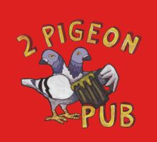 2 Pigeon Pub One Piece - Short Sleeve