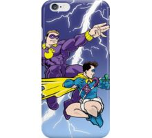 Diaperman - The Damp Knight Returns iPhone Case/Skin