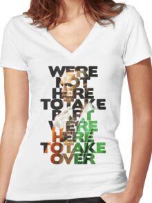 Irish McGregor Women's Fitted V-Neck T-Shirt
