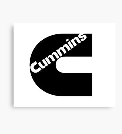 Cummins Canvas Print