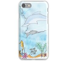 Underwater - We are all connected.  iPhone Case/Skin