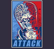 Attack! Blue Unisex T-Shirt