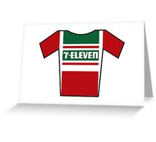 Retro Jerseys Collection - 7-Eleven Greeting Card