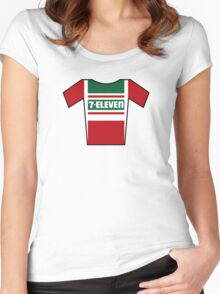 Retro Jerseys Collection - 7-Eleven Women's Fitted Scoop T-Shirt