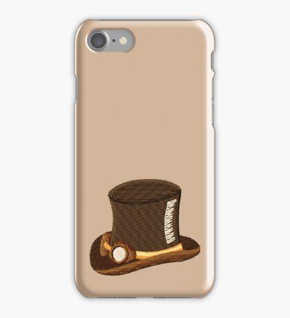 Steampunk Top Hat & Goggles iPhone Case/Skin