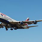 British Airways 747 by PlaneMad1997