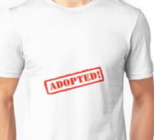 Adopted Stamp Unisex T-Shirt