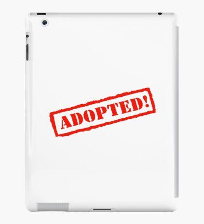 Adopted Stamp iPad Case/Skin
