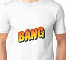 Comic Book Bang Cartoon Unisex T-Shirt