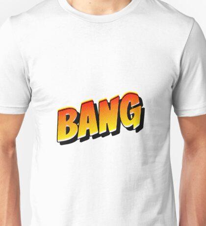Comic Book Bang Cartoon Unisex T-Shirt