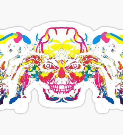 Crazy head Sticker