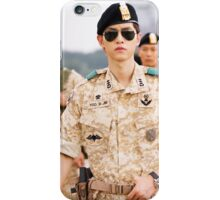 Song Joongki Descendants of the sun iPhone Case/Skin