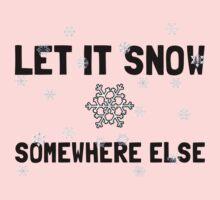 Let It Snow Kids Tee