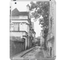 Street in Oxford  iPad Case/Skin
