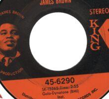 Funky Drummer 45 Sticker