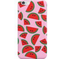 Watermelon chibi pattern iPhone Case/Skin