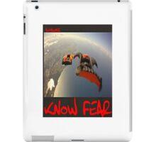 Skydiver by KNOW FEAR WEAR iPad Case/Skin
