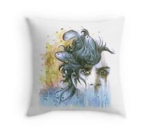 Ocean Breathes Salty Throw Pillow