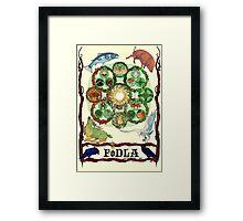 FoDLA Wheel of the Year Framed Print