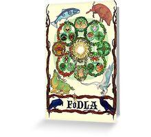 FoDLA Wheel of the Year Greeting Card